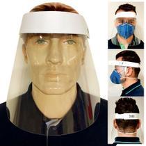 Protetor para Proteção Facial Reutilizável e Ajustável Escudo Transparente - Extra