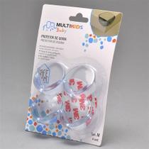 Protetor para Quina Tamanho M. C/04 Multikids BB251 - Multilaser