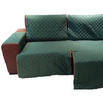 Protetor Para Sofá De 3 Módulos Microfibra Matelado Retrátil Reclinável Com Assento De 1,80M - Enxovais Ibitinga