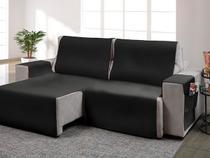 Protetor para sofa retratil onix cinza 533* - Adomes