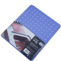 Protetor Pia Para Lavar Escorredor De Louças Grade Protege Azul - Coza