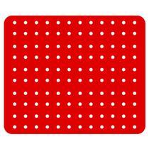 Protetor Pia Para Lavar Escorredor De Louças Grade Protege Vermelho - Coza