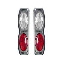 Protetor Porta Duplo Cromado cris vermelho Universal Nk-195103 - Shekparts