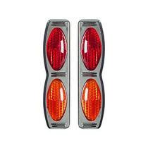 Protetor Porta Duplo Cromado vermelho amar Universal Nk-195105 - Shekparts