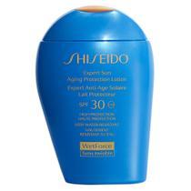 Protetor Shiseido Expert Sun Aging Protection Lotion Plus SPF30 -