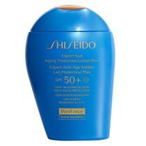 Protetor Shiseido Expert Sun Aging Protection Lotion Plus SPF50 -