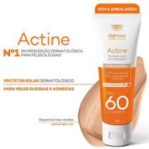 Protetor Solar Actine Color Oil-Free Toque Seco FPS60 40g -