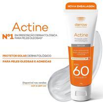 Protetor Solar Actine Oil-Free Toque Seco FPS60 40g -
