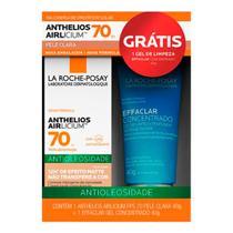 Protetor Solar Anthelios AIRlicium FPS 70 Pele Clara 40g e Ganhe Gel de Limpeza Effaclar Concentrado 40g -