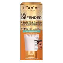 Protetor Solar com Cor L'oréal Paris  UV Defender Antioleosidade -