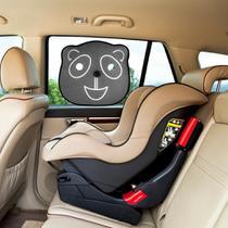 Protetor Solar De Carro Para Bebê Criança Duplo Urso 02 Unidades Dobrável Proteção UV - Girtondo