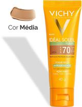 Protetor Solar Facial Idéal Soleil Purify - Cor Média- FPS70 - 40g - Vichy -