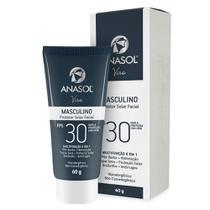 Protetor Solar Facial Masculino - Viso FPS30 - Anasol
