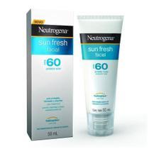 Protetor Solar Facial Sun Fresh FPS60 - Neutrogena - 50ml -