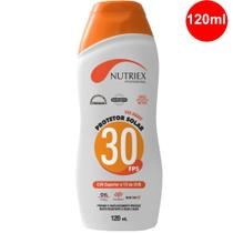 Protetor Solar FPS 30 Corporal Nutriex Profissional 120ml -