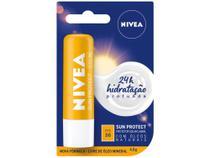 Protetor Solar Hidratante Labial Nivea - Sun Protect Alta Protação FPS 30 4,8g -