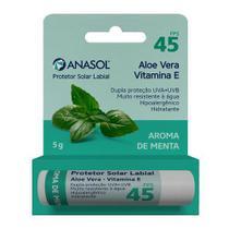Protetor Solar Labial FPS45 Anasol -