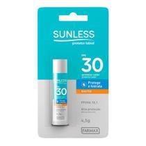 Protetor Solar Labial Hidratante Sunless FPS30 -