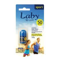 Protetor Solar Labial Laby Sport FPS 50 com 3,2g -