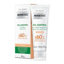 Protetor Solar NeoStrata Minesol Oil Control FPS 60 Gel Creme Cor Universal 40g - Minesol Neostrata