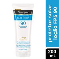 Protetor Solar Neutrogena Sun Fresh Body FPS90 200mL -
