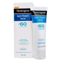 Protetor Solar Neutrogena Sun Fresh Facial Fps 60 50ml - Helioplex