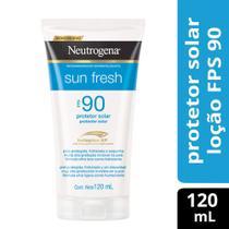 Protetor Solar Neutrogena Sun Fresh FPS 90 120ml -