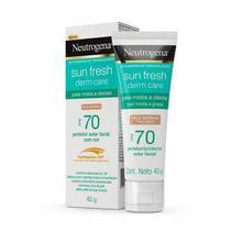 Protetor Solar Neutrogena Sun Fresh Oily Skin Morena FPS70 -