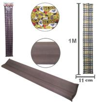 Protetor Veda Porta Duplo Impermeavel Estampado Liso 1m - Bruni