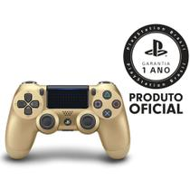 PS4 CONTROLE DualShock Gold - Sony