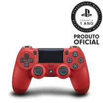 PS4 CONTROLE DualShock Red - Sony
