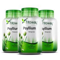 Psyllium 500mg - 3x 60 cápsulas - Fitoway -