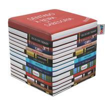 Pufe Livros Good Pufes -