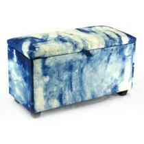 Puff Baú Big Azul Jeans - Absolut