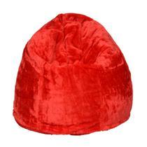Puff Soft Pelúcia Vermelho - Stay puff