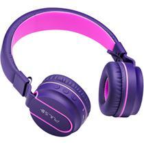 Pulse headphone bluetooth rosa-roxo ph217 -