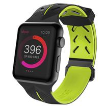Pulseira Apple Watch 44mm 42mm X-Doria Action Band Sport Fashion com Pelicula 3D Tela Inteira Premium