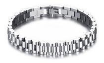 Pulseira Bracelete Masculino Aço Inox 316l - Euro Importados