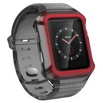Pulseira com Case Capa Bupper Sport para Apple Watch 42mm Rumble X-Doria -