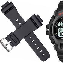 771440dd20c Pulseira Compatível para Relógio Casio G-Shock G 2200 de Silicone Branca -  Oficina dos