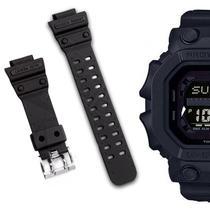 af1f1421a0f Pulseira Compatível para Relógio Casio Gx56 de Silicone Preta - Oficina dos  relogios