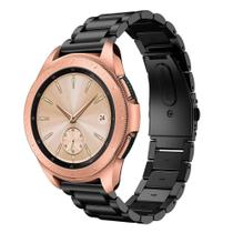 Pulseira De Aço Inoxidável para Samsung Galaxy Watch 42mm, Gts, Gear S2, - Tcshick