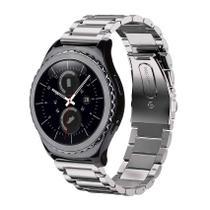 Pulseira de Metal Inox Prata para Relógio Samsung Galaxy Gear S2 Classic -