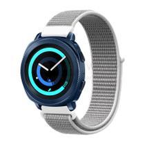 Pulseira de Nylon Cinza para Relógio Samsung Galaxy Gear S2 Spot - Tudo Smartwatch