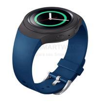 Pulseira de Silicone Azul para Relógio Samsung Galaxy Gear S2 Sport - Tudo Smartwatch