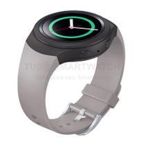 Pulseira de Silicone Bege para Relógio Samsung Galaxy Gear S2 Sport - Tudo Smartwatch
