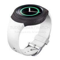 Pulseira de Silicone Branco para Relógio Samsung Galaxy Gear S2 Sport - Tudo Smartwatch