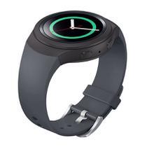 Pulseira de Silicone Cinza para Relógio Samsung Galaxy Gear S2 Sport - Tudo Smartwatch