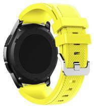 Pulseira De Silicone P/ Samsung Galaxy Gear S3 - Amarela - Jetech