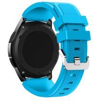 Pulseira De Silicone P/ Samsung Galaxy Gear S3 - Azul Claro - Jetech